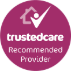 Trusted Care Recommended Logo